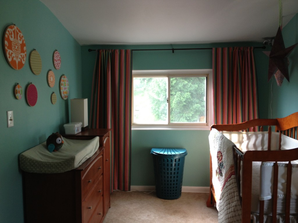 Image of: Best Blackout Curtains Nursery
