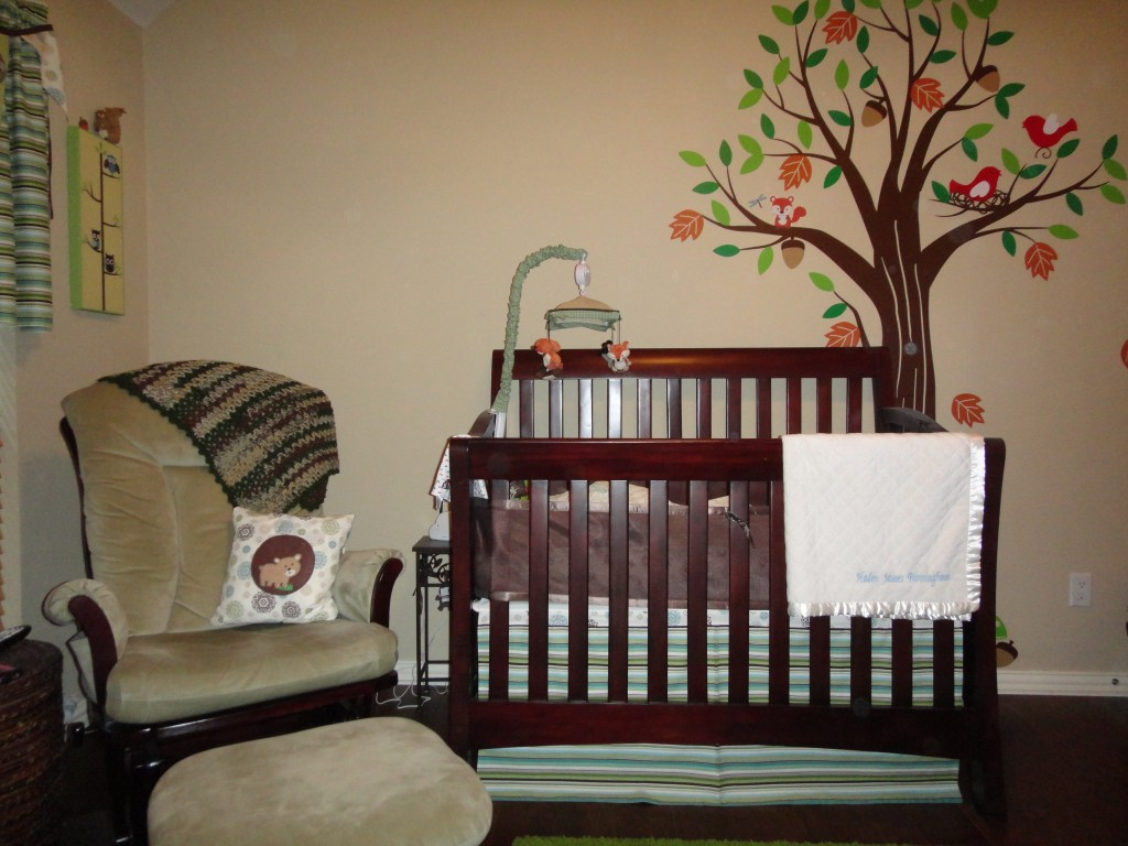 Image of: Best Forest Themed Nursery