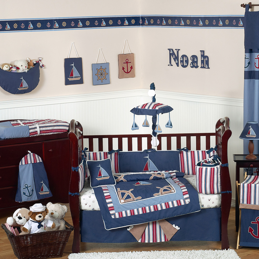 Image Of Best Nautical Nursery Bedding