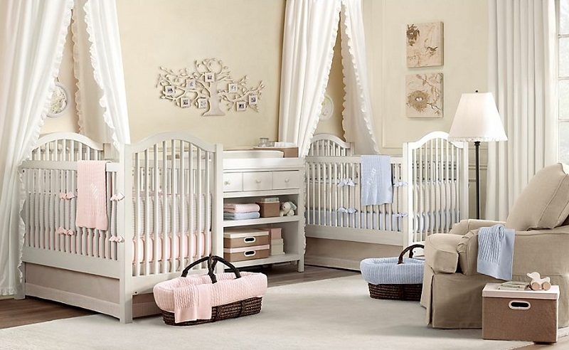 Picture of: Best Twin Nursery Ideas