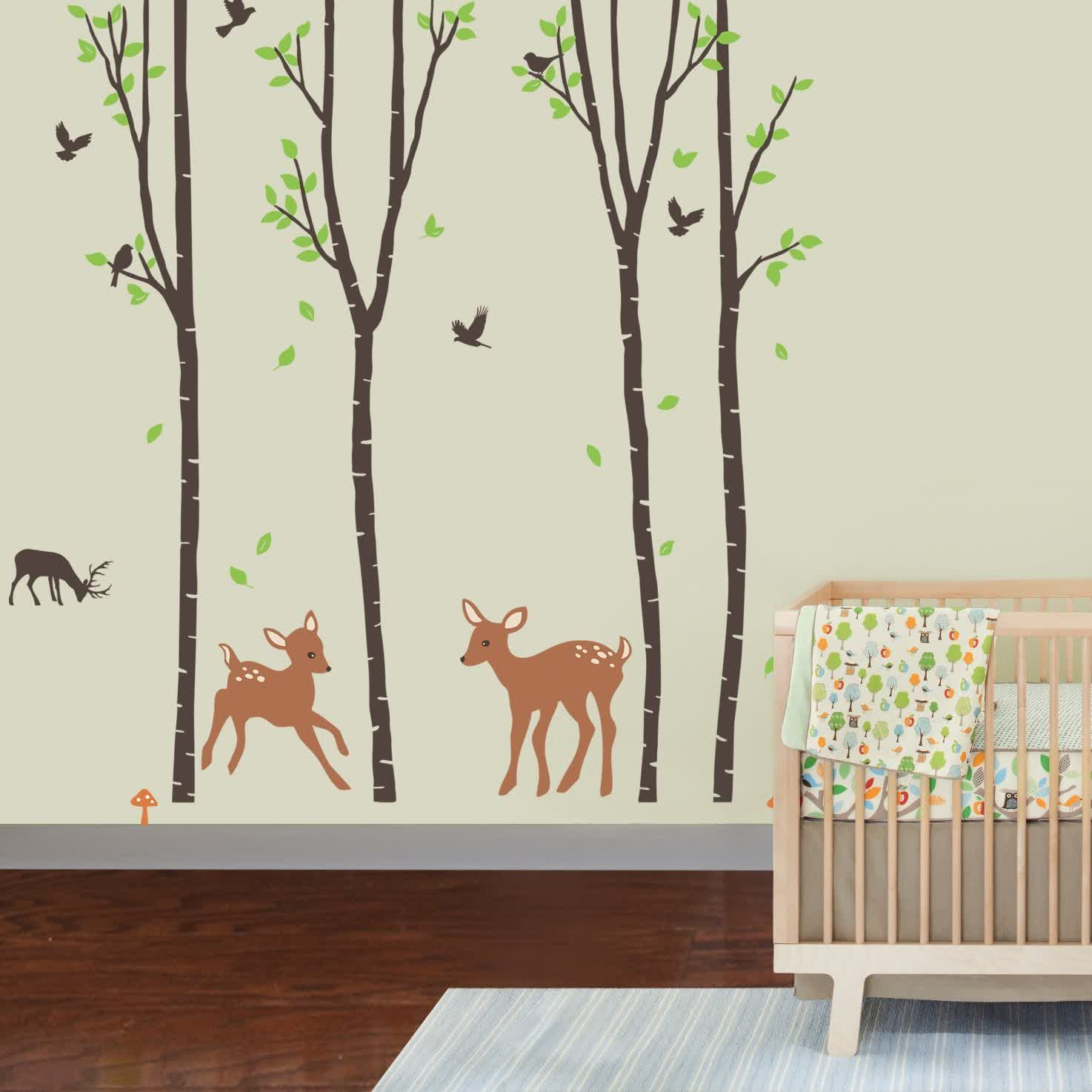 Image of: Best Wall Decals for Nursery