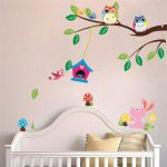 Bird Nursery Bedding Decor