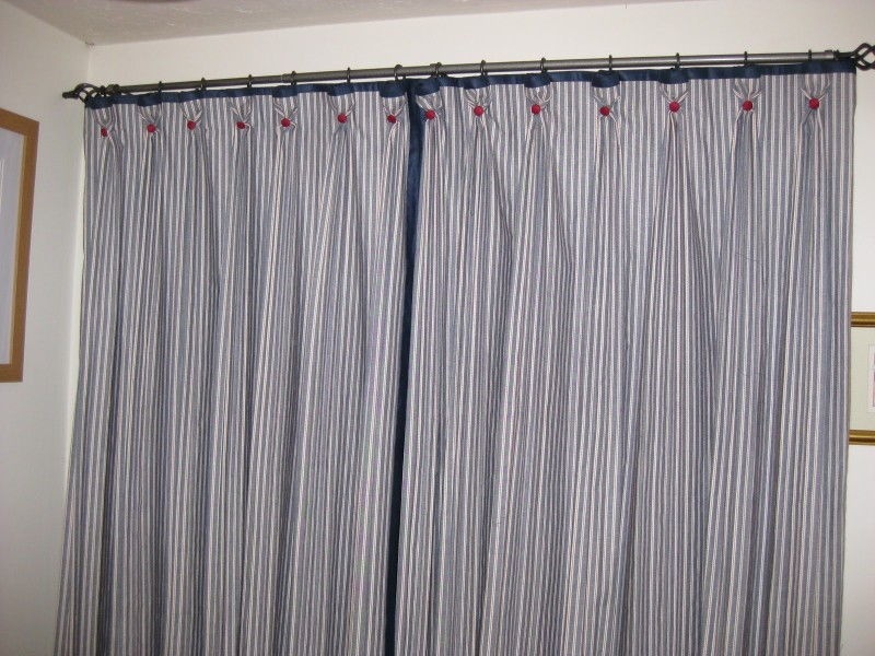 Image of: Blackout Curtains Nursery Design