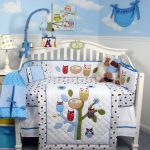Blue Baby Boy Nursery Bedding