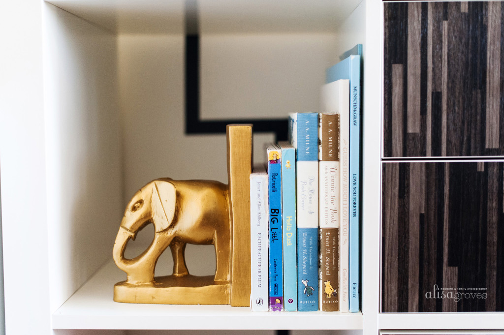 Picture of: Bookends for Nursery modern