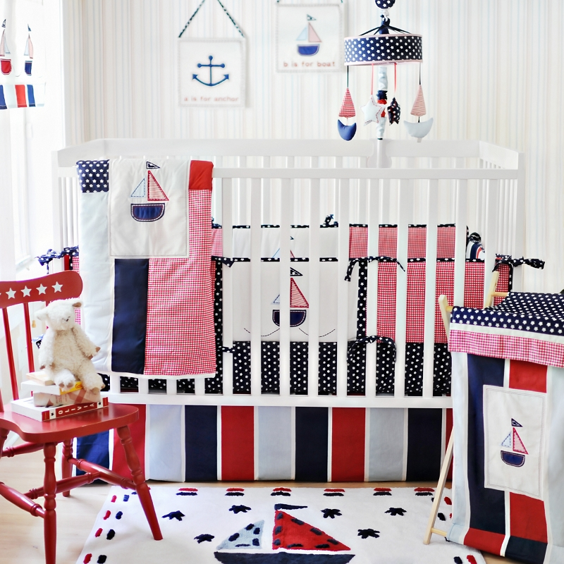 Boy Nautical Nursery Decor