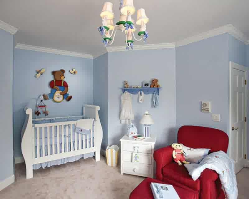 Image of: Boy Nursery Themes Image