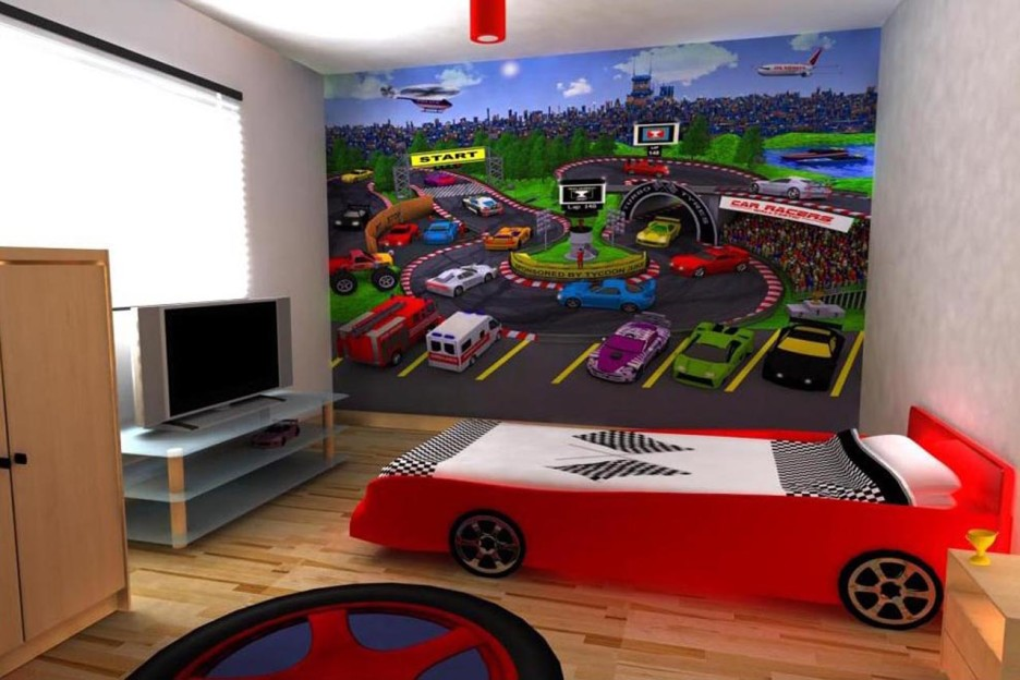 Image of: Boy Nursery Themes Vehicle