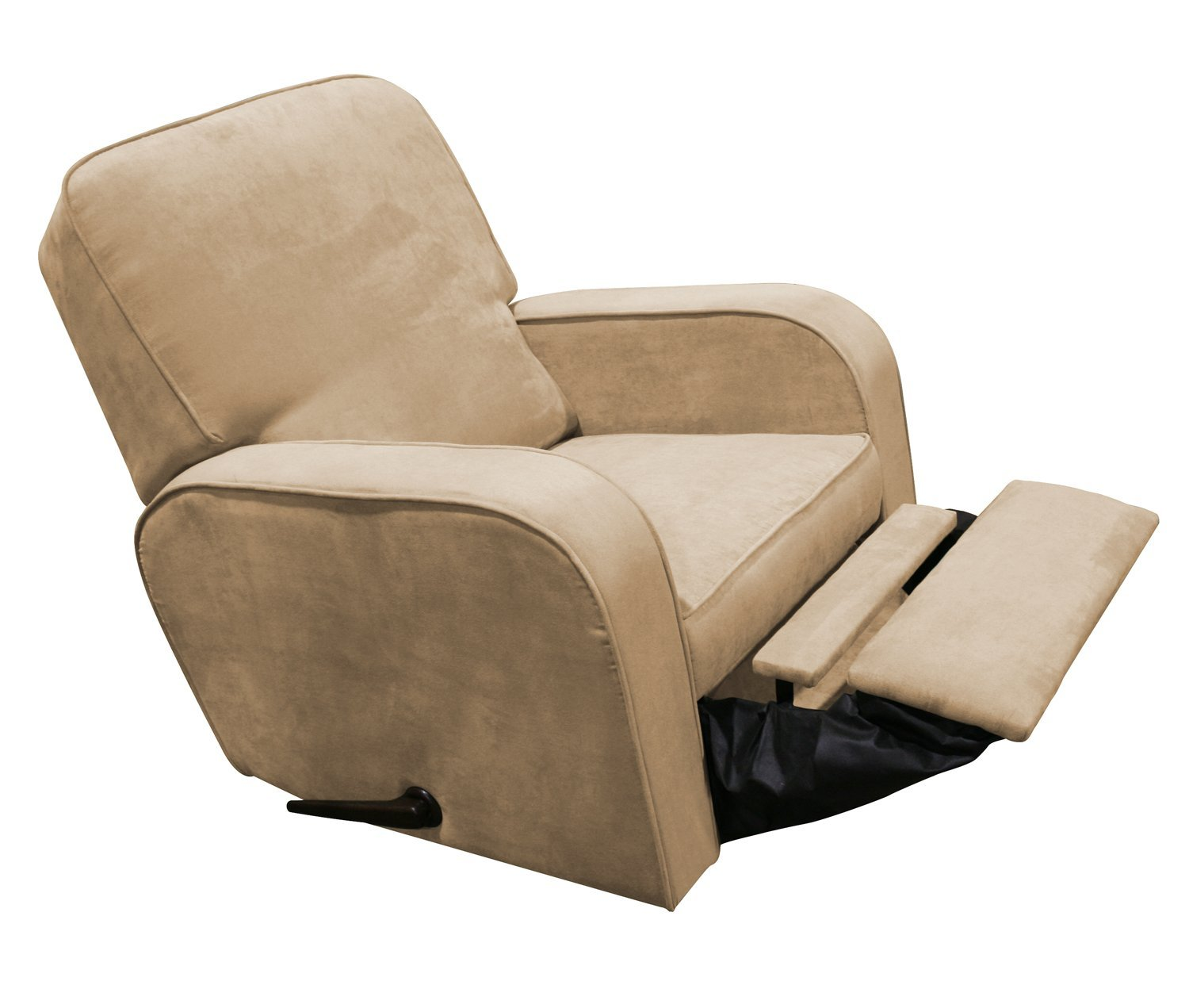 Image of: Brown Rocker Recliner Nursery