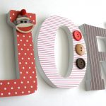 Brown Sock Monkey Nursery