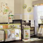 Brown and Green Unisex Nursery Ideas