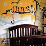 Calvin and Hobbes Nursery Background