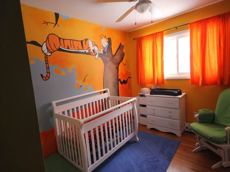 Image of: Calvin and Hobbes Nursery Beautiful Design