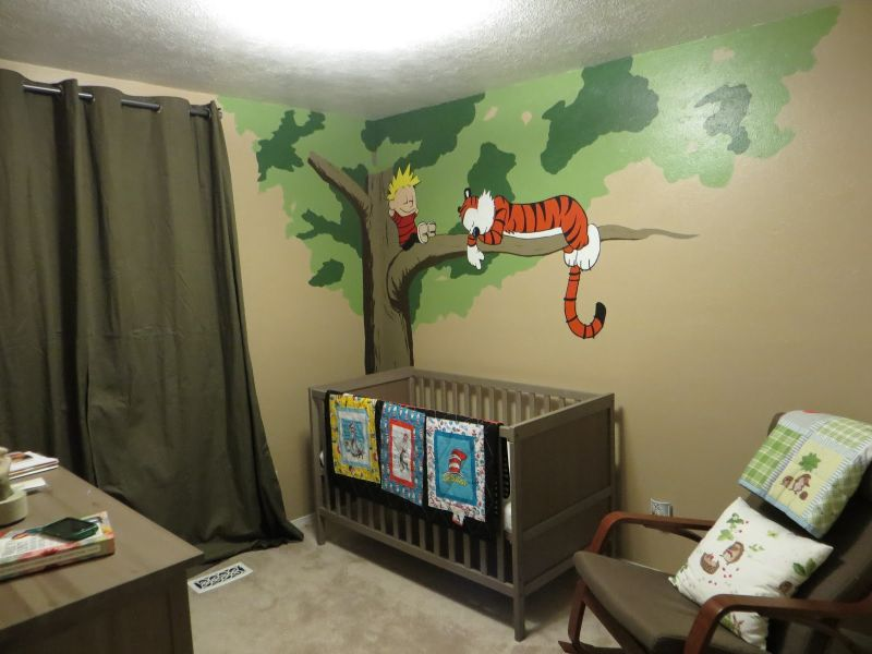 Image of: Calvin and Hobbes Nursery Excellent