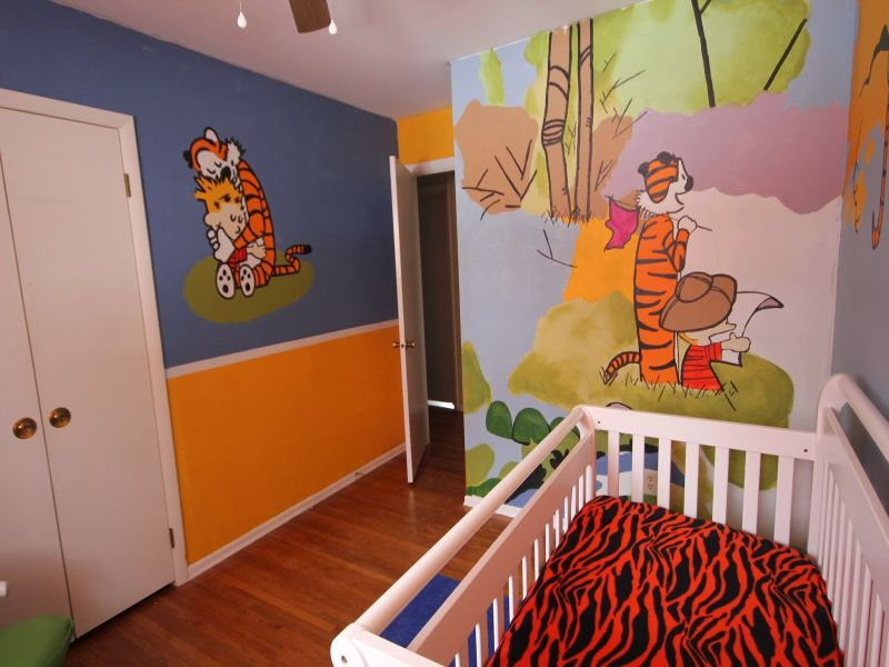 Image of: Calvin and Hobbes Nursery Ideas