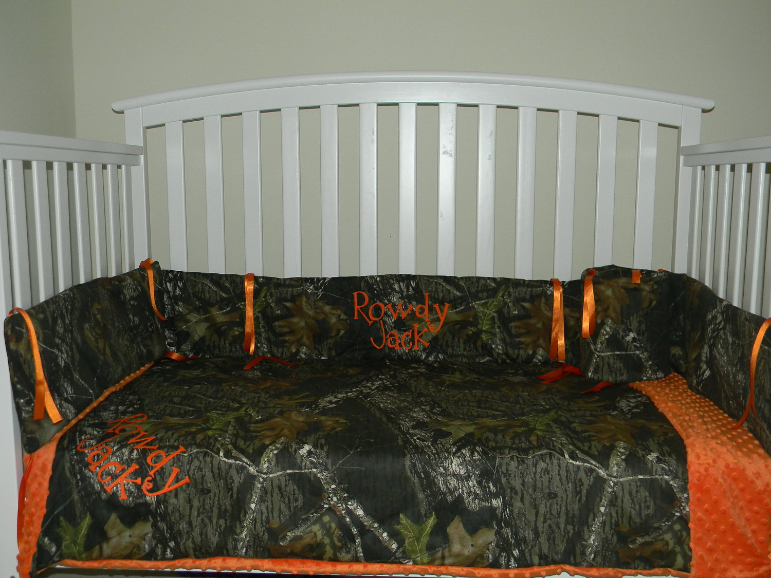 Picture of: Camo Nursery Bedding
