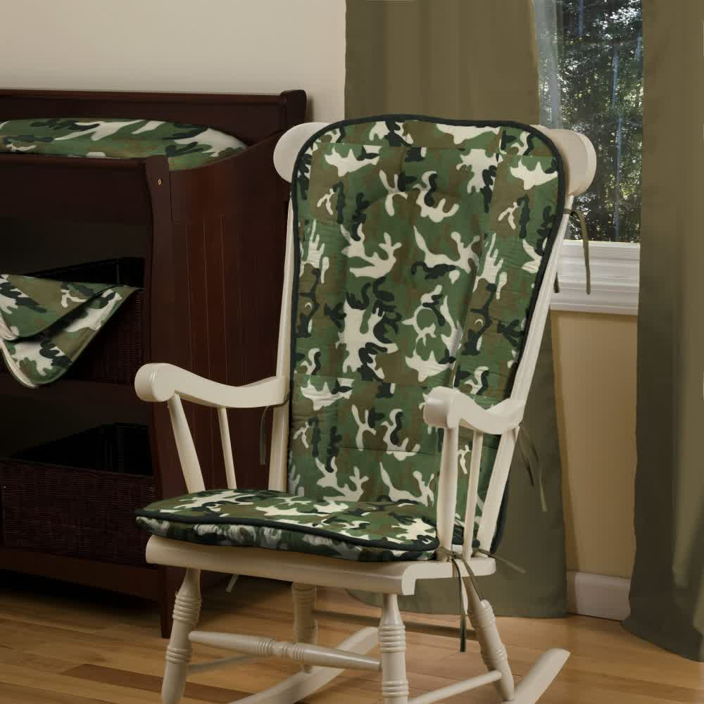 Picture of: Camo Nursery Green