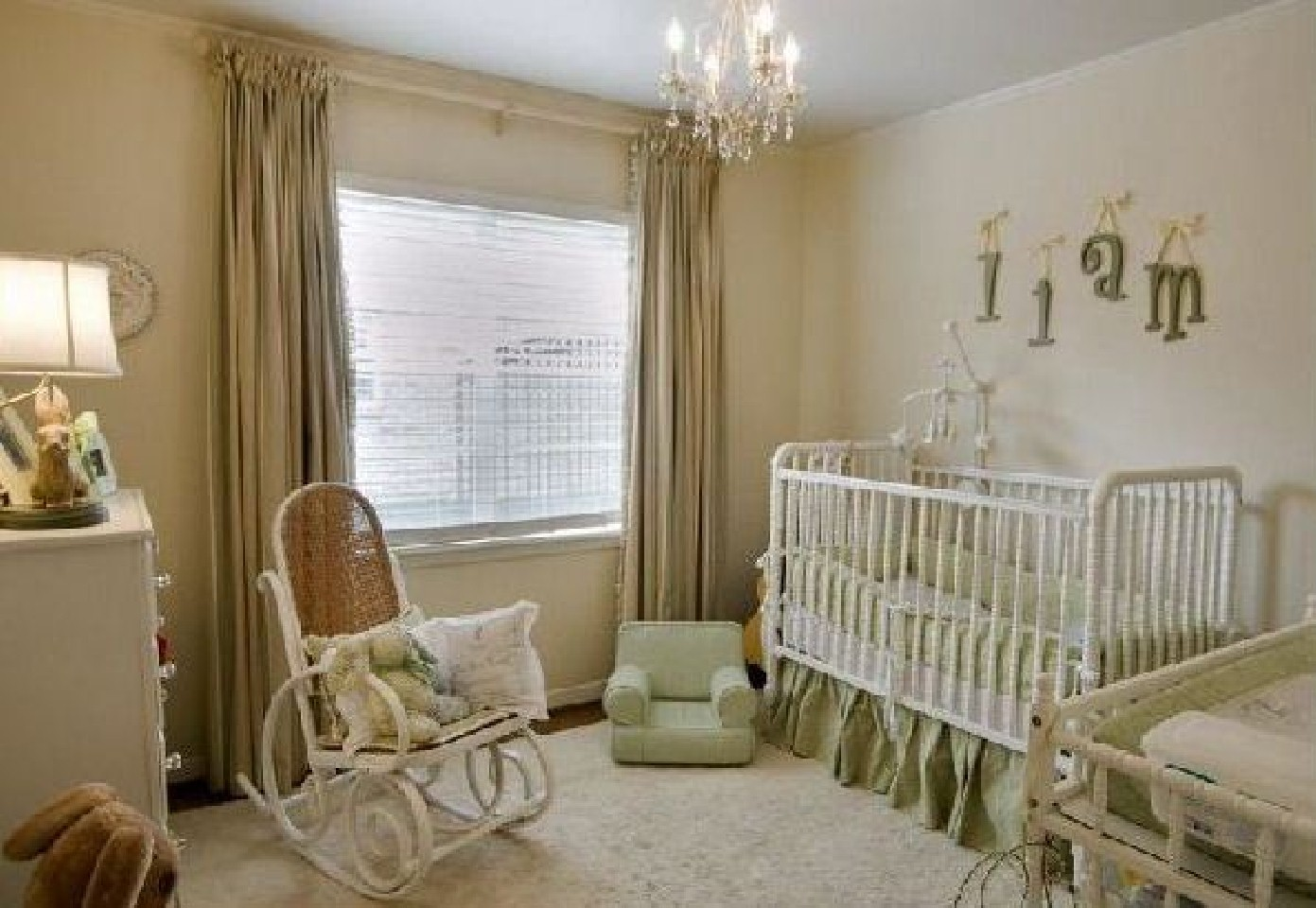 Picture of: Chandelier for Nursery Ideas
