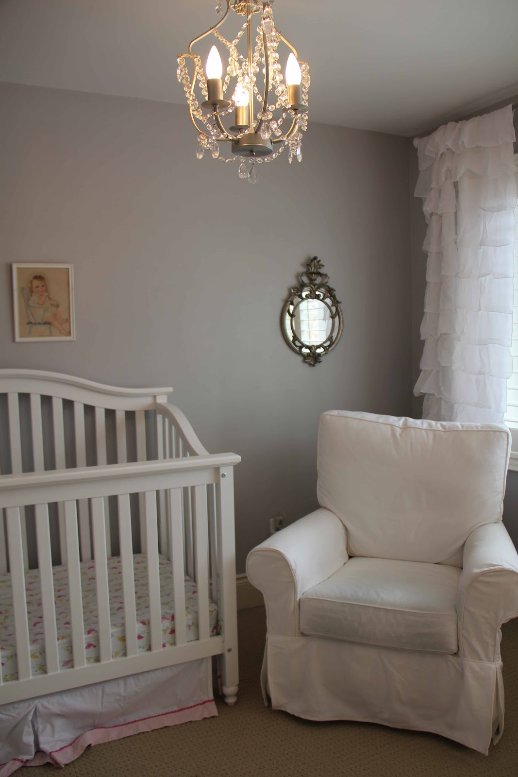 Picture of: Chandelier for Nursery