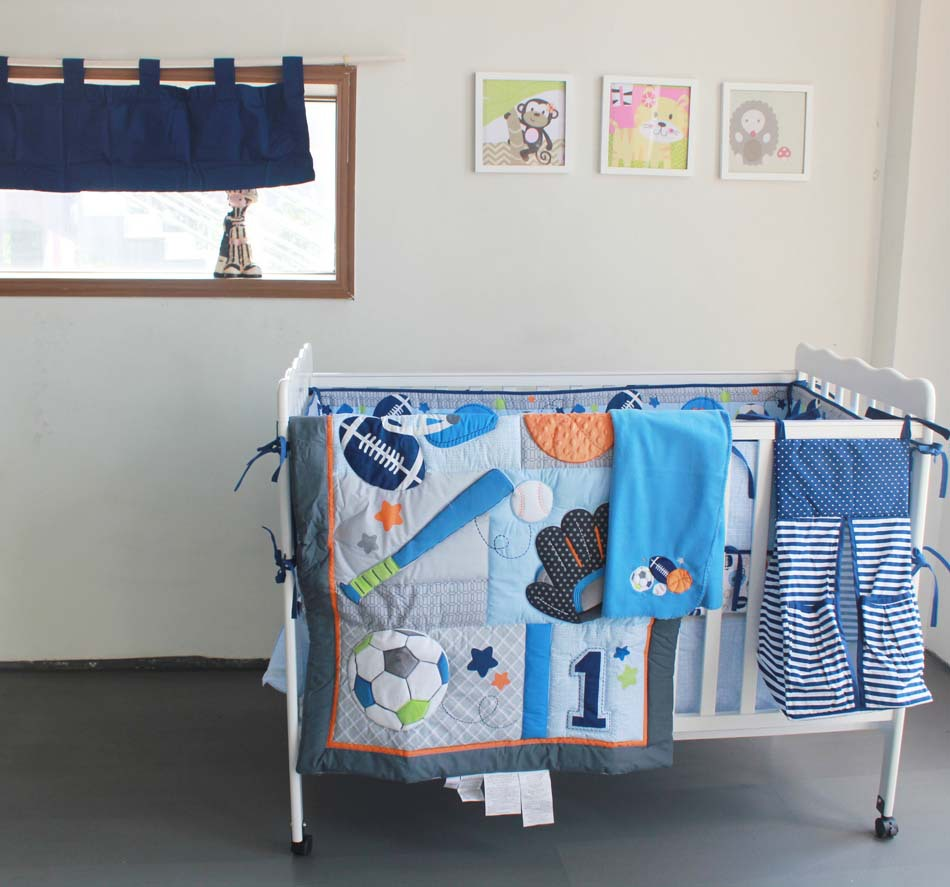 Picture of: Cheap Baseball Nursery Bedding