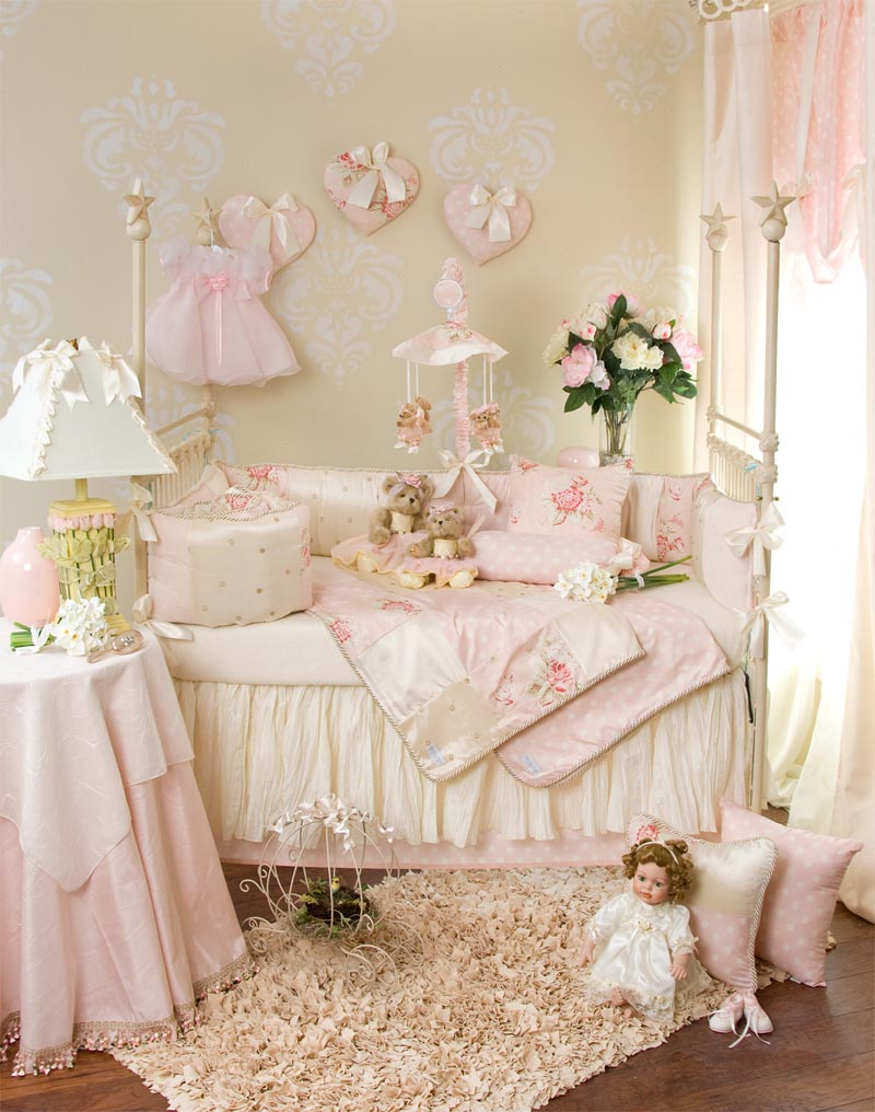 Picture of: Classic for Baby Girl Nursery Bedding