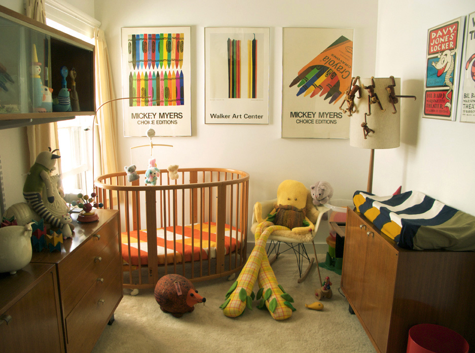 Picture of: Cool Bohemian Nursery
