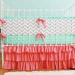 Coral Nursery Bedding Baby