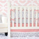 Coral Nursery Bedding Pink