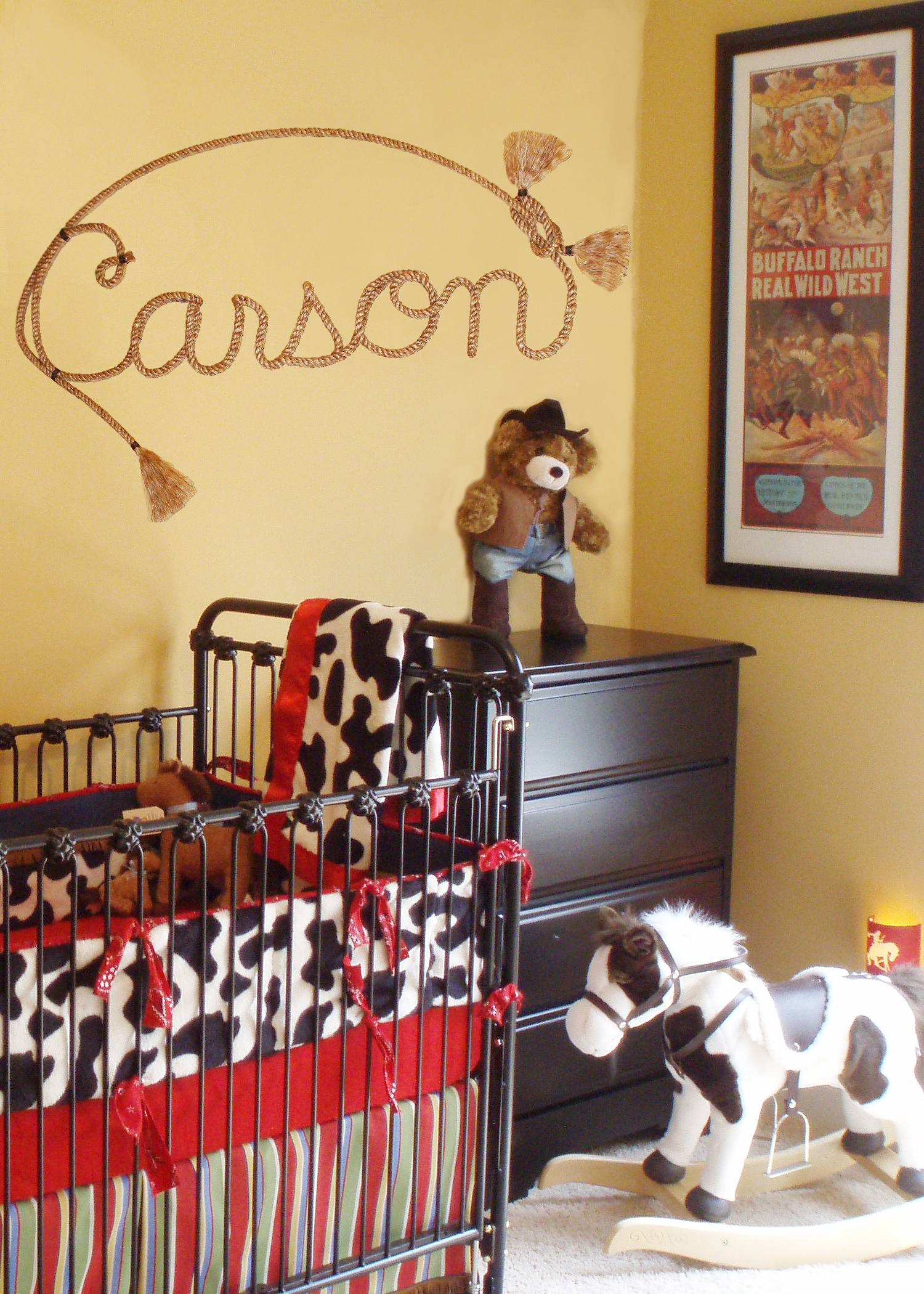 Image of: Cowboy Nursery Design