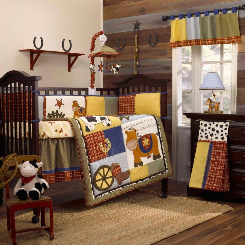 Image of: Small Cowboy Nursery Ideas