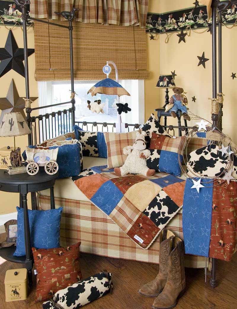 Image of: Cowboy Nursery Inspirations
