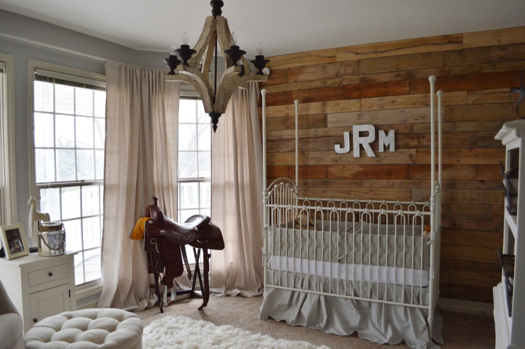 Image of: Cowboy Nursery Plan