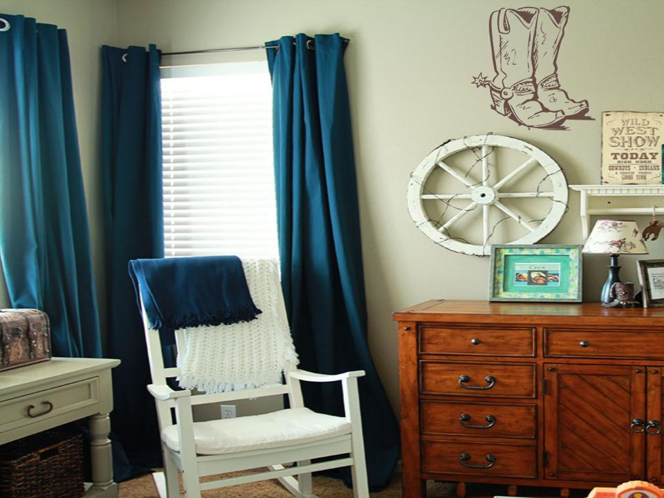 Image of: Cowboy Nursery Vinyl