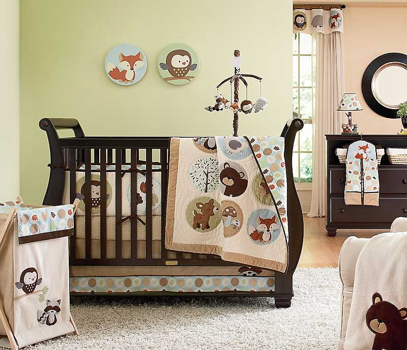 Image of: Creative Forest Themed Nursery