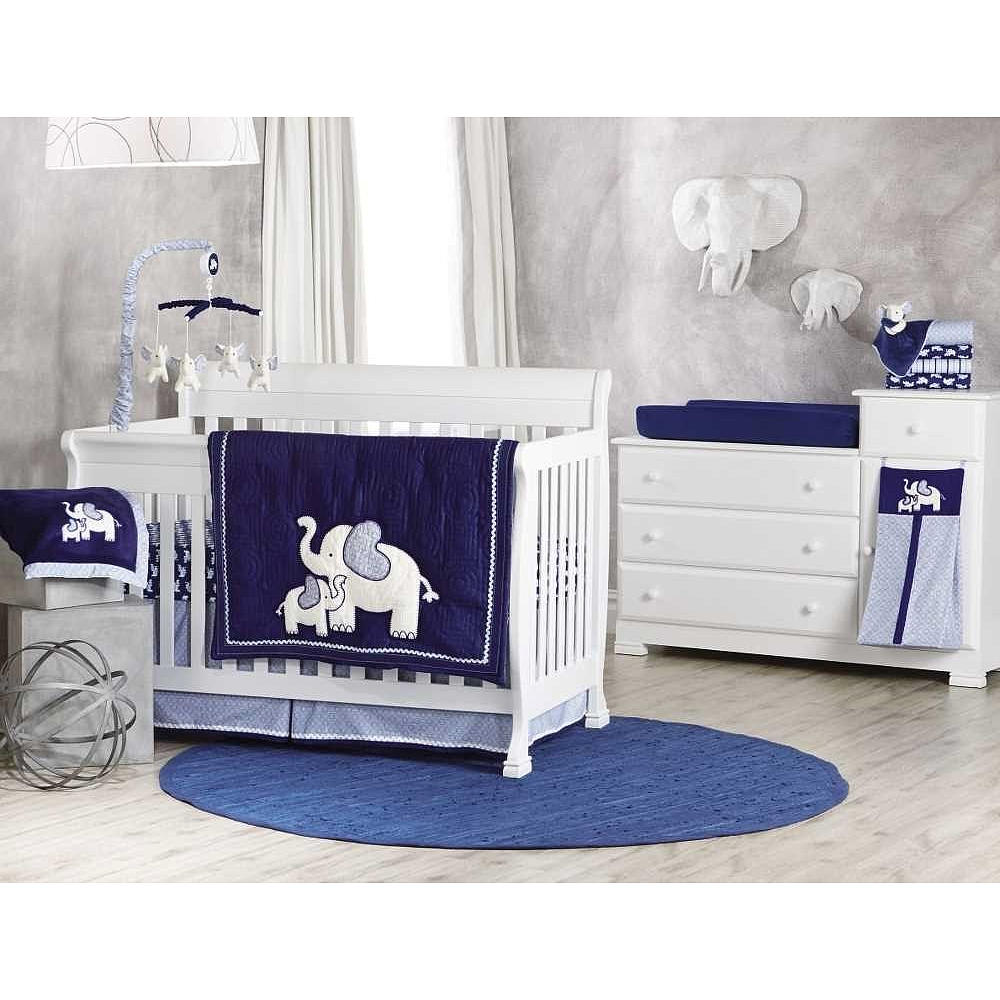 Picture of: Crib Baby Boy Nursery Bedding