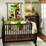 Curly Tails Monkey Nursery Decor