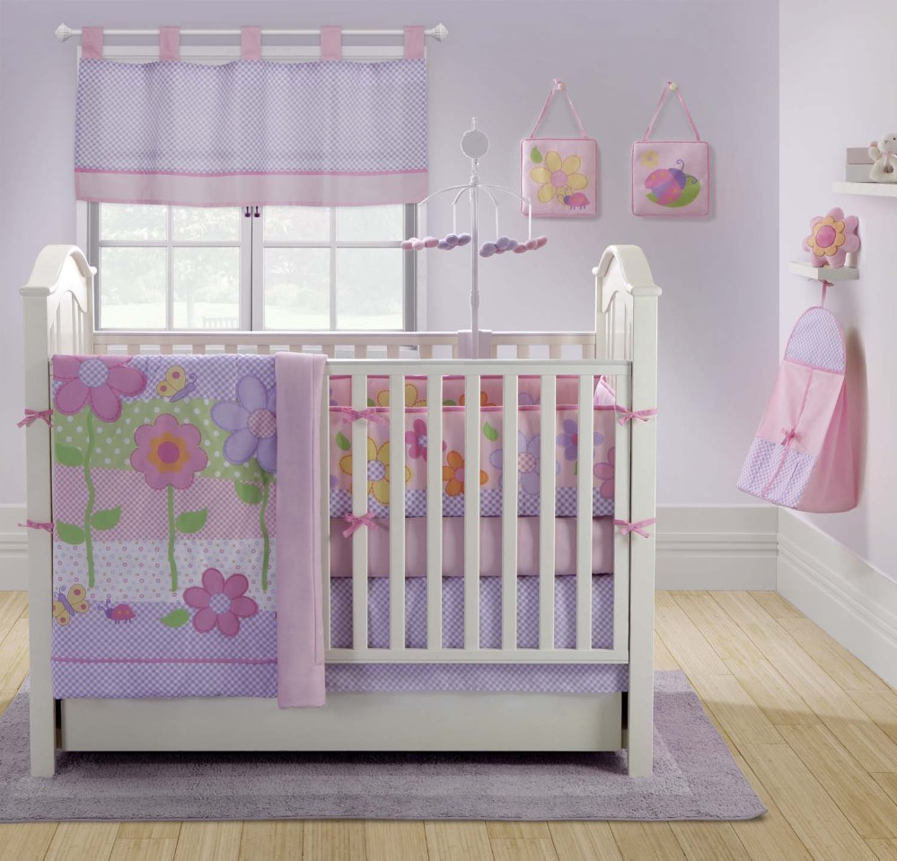 Image of: Cute Baby Girl Nursery Themes