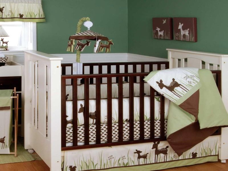 Picture of: Deer Nursery Bedding Image