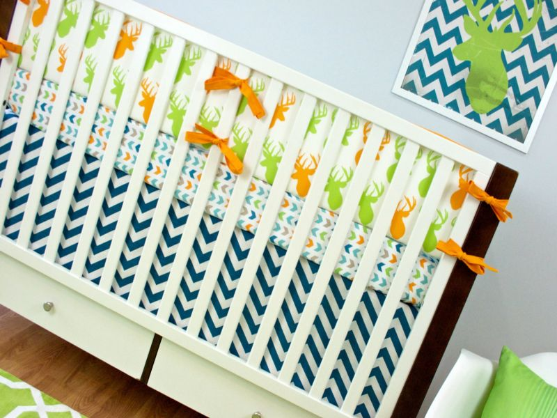 Deer Nursery Bedding Photos