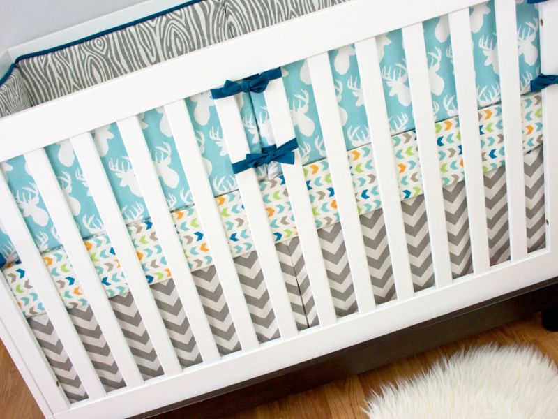 Deer Nursery Bedding For Baby