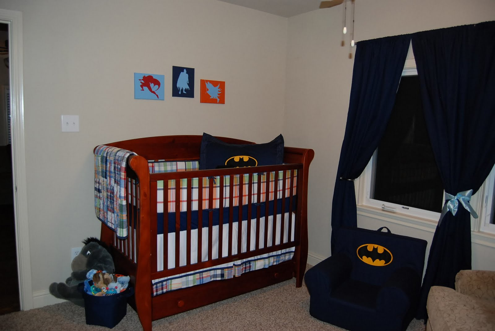 Design Batman Nursery Bedding Set