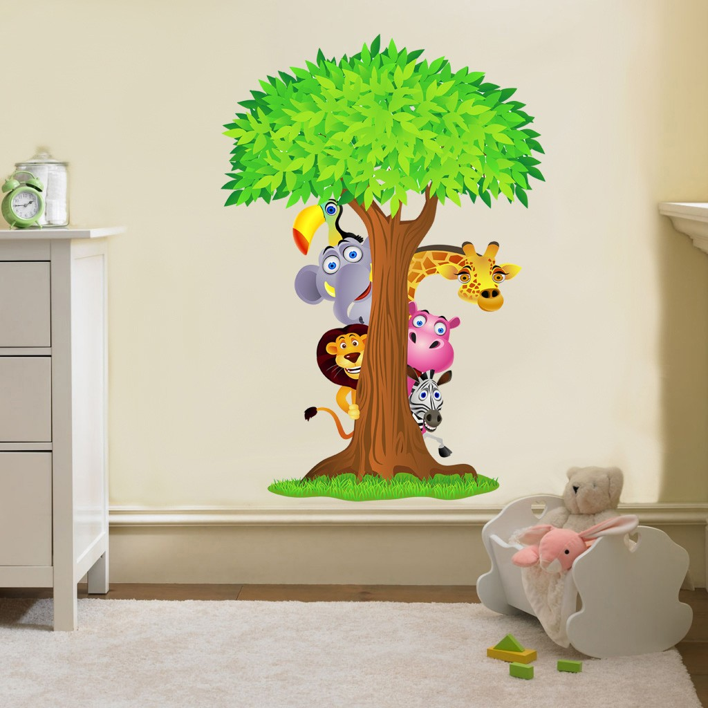 Design Of Wall Stickers For Nursery