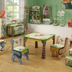 Dinosaur Nursery green