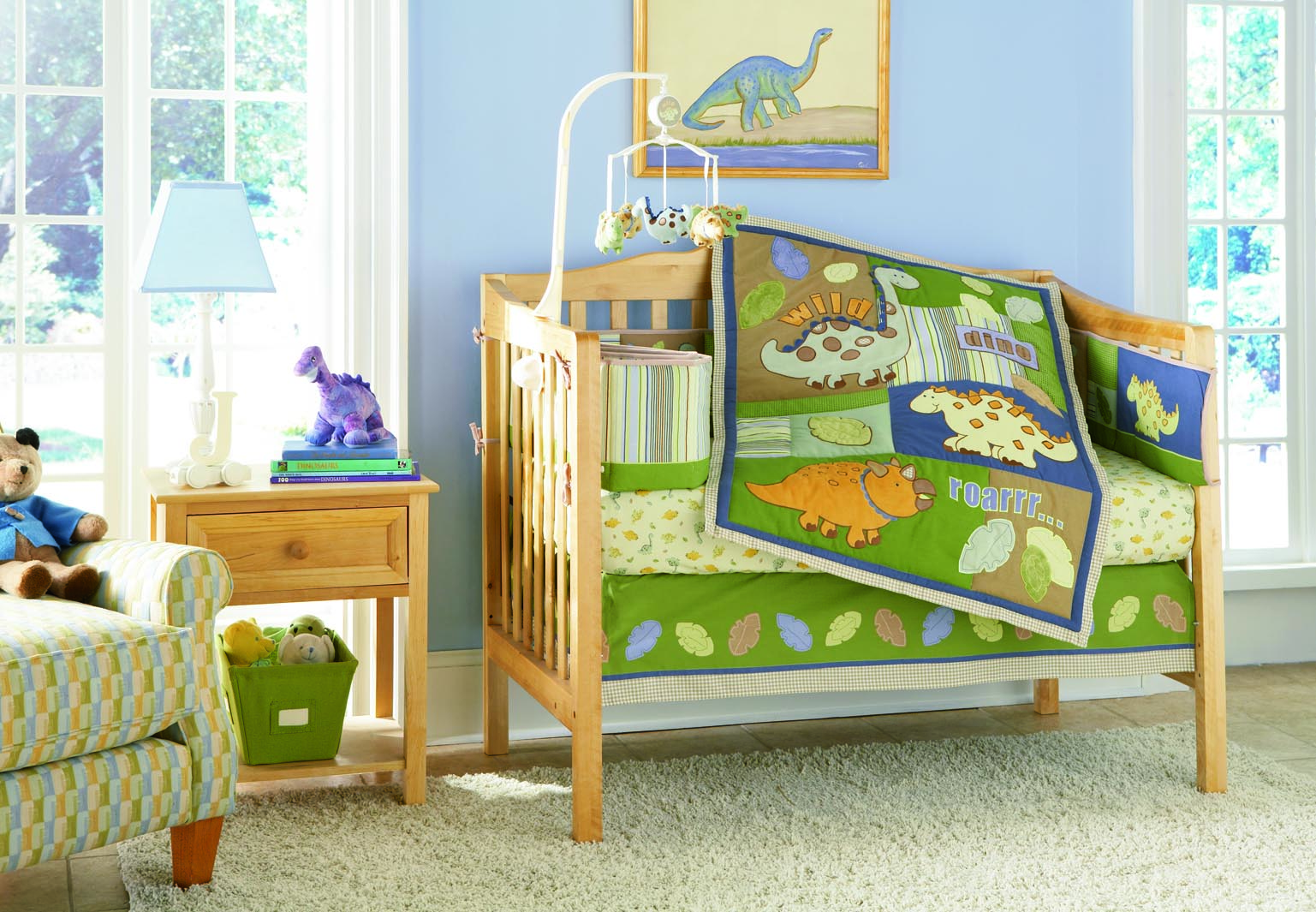 Picture of: Dinosaur Nursery zoom