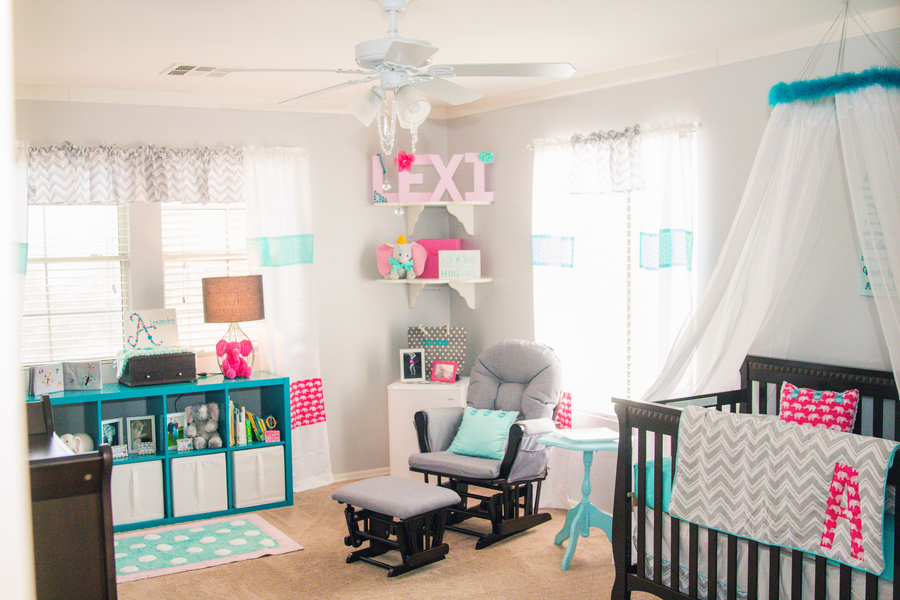 Dumbo Disney Themed Nursery