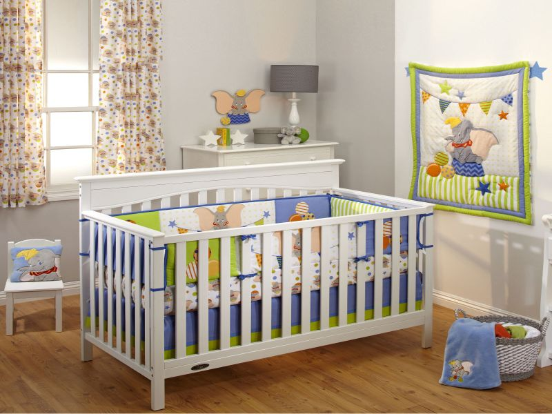 Image of: Dumbo Nursery Decoration