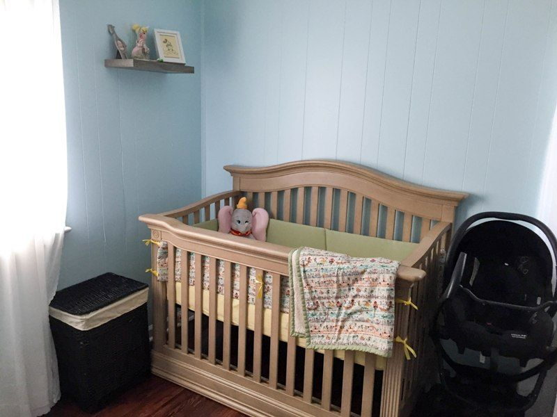 Image of: Dumbo Nursery Simple