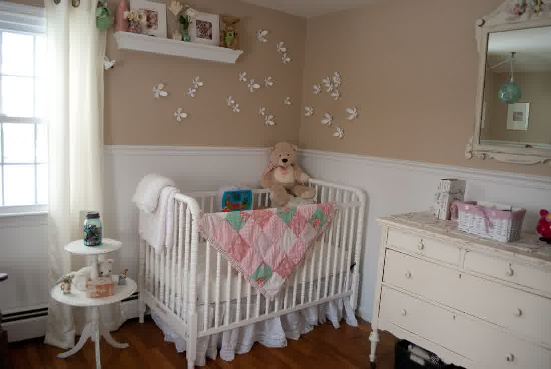 Picture of: Easy Shabby Chic Nursery