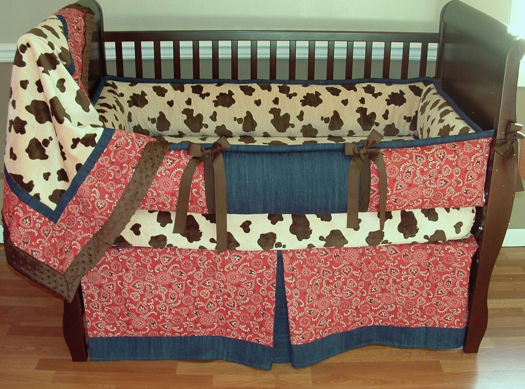 Picture of: Elegant Western Nursery Bedding