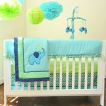 Elephant Nursery Bedding Decoration